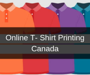 online t-shirt printing canada