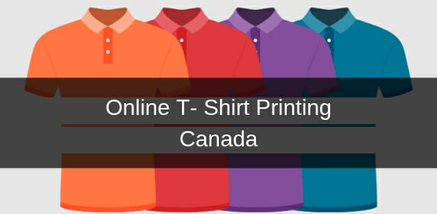 online t-shirt printing canada
