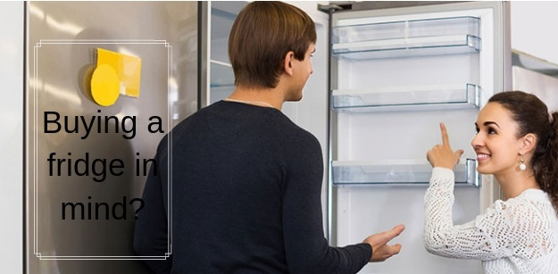Buying a fridge in mind_
