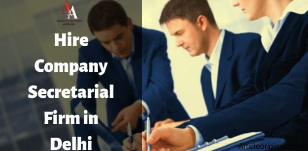 Hire Company Secretarial Firm in Delhi