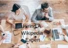 Hiring A Wikipedia Expert