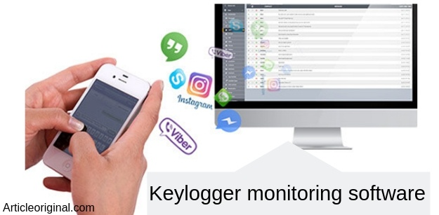Keylogger monitoring software
