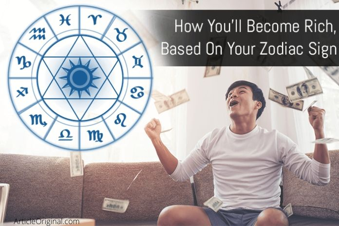 Money Horoscope become Rich by Zodiac Sign
