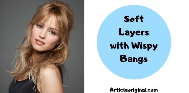 Soft Layers with Wispy Bangs