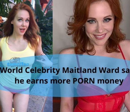 World Celebrity Maitland Ward says he earns more PORN money