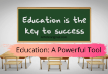 Education_ A Powerful Tool