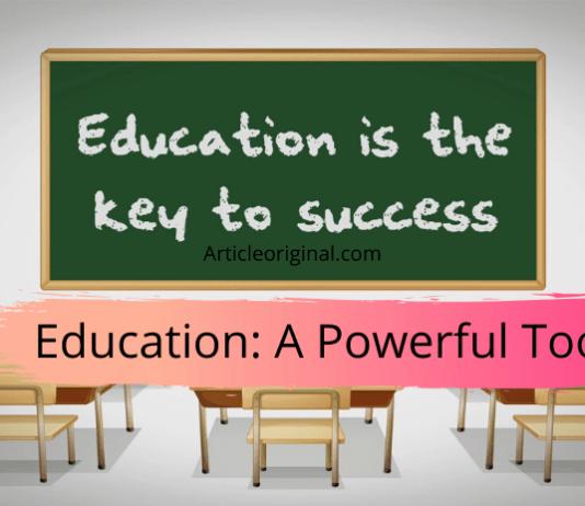 Education_ A Powerful Tool